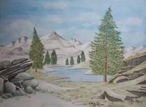 Bergsee von Sabrina Hennig