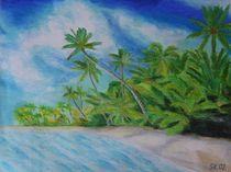 Palmenstrand von Sabrina Hennig