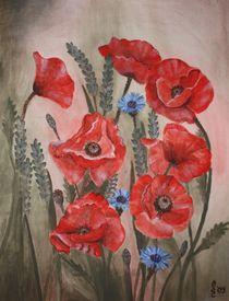 Mohnblumen von Sabrina Hennig