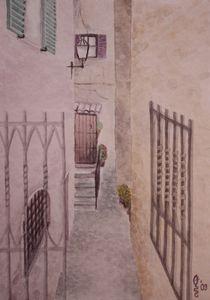 Gasse by Sabrina Hennig