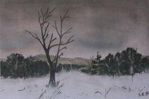 Winterlandschaft by Sabrina Hennig