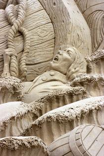 Sandskulptur von Sandra Melcer
