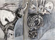Die Anhörung der Knochenmaschine von Wolfgang Wende