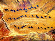 Wüstenmosaik by Fritz Mährle