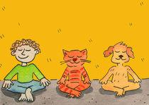 meditation,yoga,zen, von sabine voigt