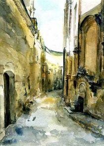 Straße in Mdina, Malta von Matthias Kriesel