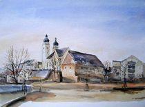 Johanniskirche und Komturhof in Plauen von Matthias Kriesel