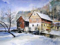 Kienmühle im Winter von Matthias Kriesel