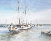 Voldendam Hafen von Matthias Kriesel