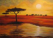 African Sundown by Susanne Winkels