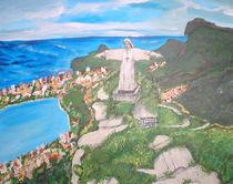 Corcovado, Rio de Janeiro by Sylvia W.
