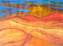 Wüste im Sonnenuntergang by Sylvia W.