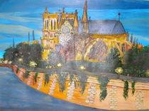 Notre Dame an der Seine by Sylvia W.