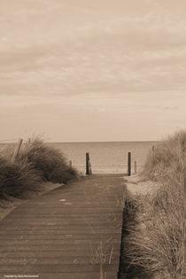 Strand-Steg by Diana Reimansteiner