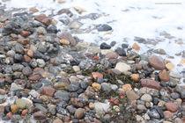Steine am Meer von Diana Reimansteiner