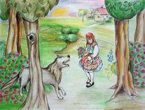 Rotkäppchen und der böse Wolf von Dagmar Herrmann