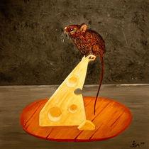 Maus auf Käse von isarts