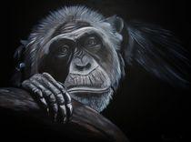 Nachdenklicher Schimpanse von isarts