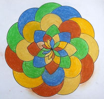 Mandala 8 by Ulrico Gleisner