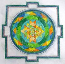 Mandala 9 by Ulrico Gleisner