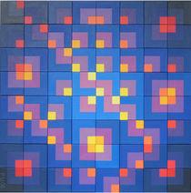 Variobild Malerei Nr 62 Variante von Peter Ulrich