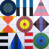 Variobild Malerei Nr 45 von Peter Ulrich