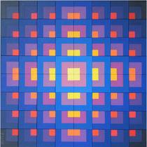 Variobild Malerei Nr 62 von Peter Ulrich