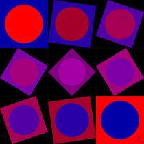 rot wird blau von Peter Ulrich