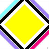 Gelbes Quadrat von Peter Ulrich