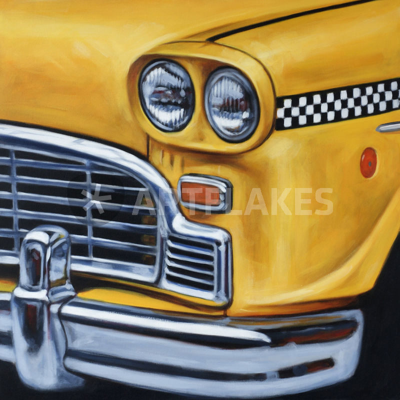 Poster New York Taxi.New York Taxi Painting Art Prints And Posters By Klaus Boekhoff