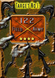 Target No1 - 122nd Field Army Kisan Empire by Elmar Dickhoven