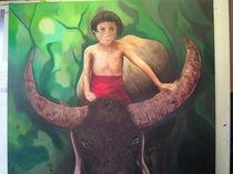 Kind im Regenwald von Oliver Hein