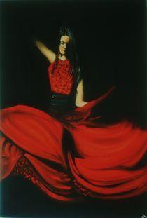 Flamencotänzerin von Pia-Susann Roese
