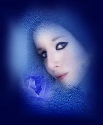 Blue Rose by bluemoonart