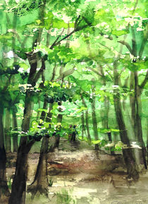 "Sommerspaziergang im Wald by Dorothea ""Elia"" Piper"