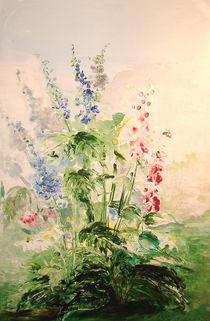 """Sommergarten mit Fingerhut by Dorothea """"Elia"""" Piper"""