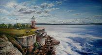 "Leuchtturm bei Sydney by Dorothea ""Elia"" Piper"