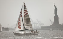 New York City - Segelschiff by Doris Krüger