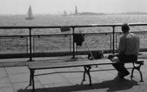 New York City - Der Angler by Doris Krüger