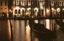 Venedig Canal Grande Gondel by Doris Krüger