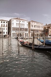 Canal Grande in Venedig by Doris Krüger