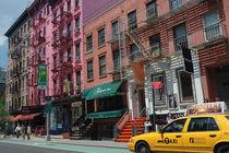 Taxi in SoHo, New York City von Doris Krüger