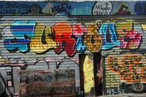 New York City - Graffiti 'Furious' von Doris Krüger