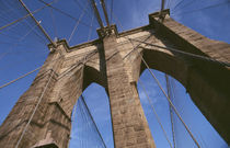 New York City - Brooklyn Bridge by Doris Krüger