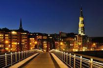 Night Bridge by Peter Steinhagen