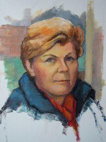 Portrait Malerei von alfons niex