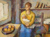Mutter mit Kind von alfons niex