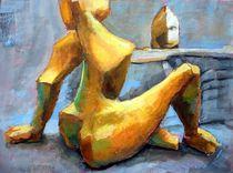 Der Maler und das Modell von alfons niex
