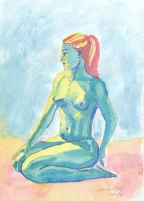 Blaue Fee von Christine Höfig