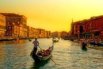 Venezian Streetlife von Michael S. Schwarzer